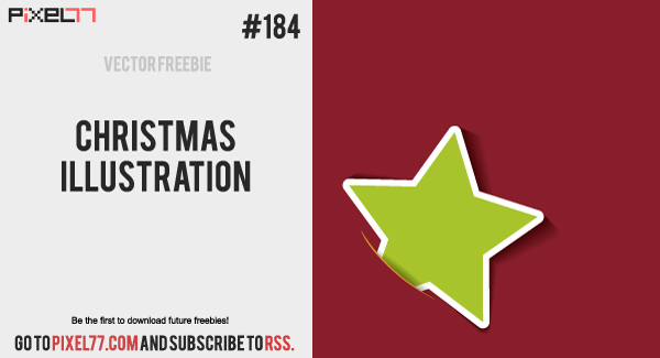 free vector Free Vector of the Day #184: Christmas Illustration