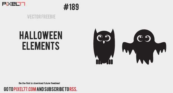 free vector Free Vector of the Day #189: Halloween Elements