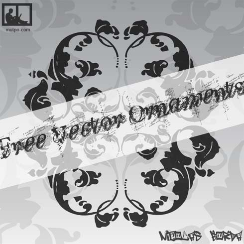 free vector Free Vector Ornaments