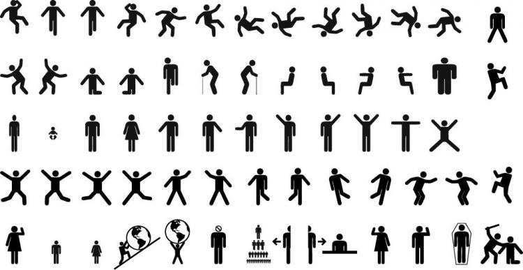 free vector Free Vector Sign Pictograms