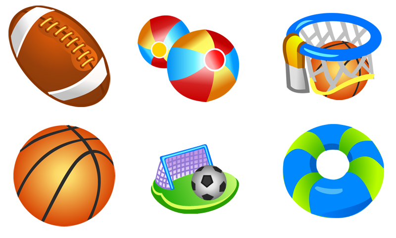 free vector Free Vector Sport Icons