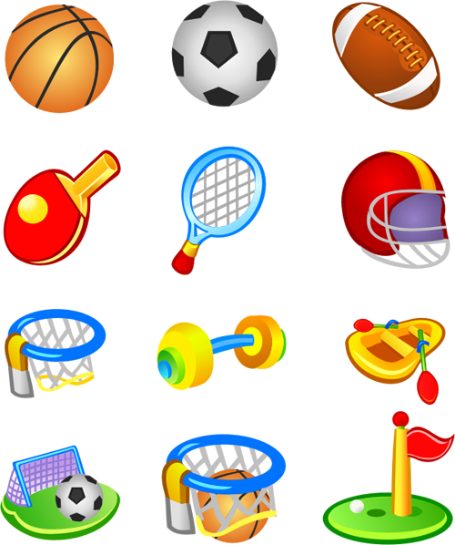 free vector Free Vector Sport Pack I