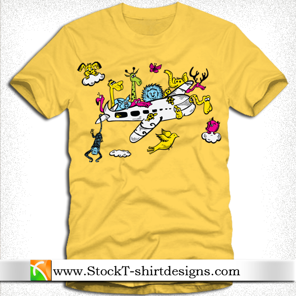 free vector Free Vector T-shirt Design-7