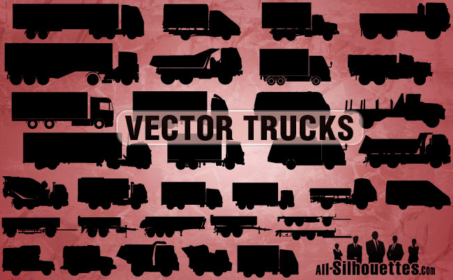 free vector Free Vector Trucks