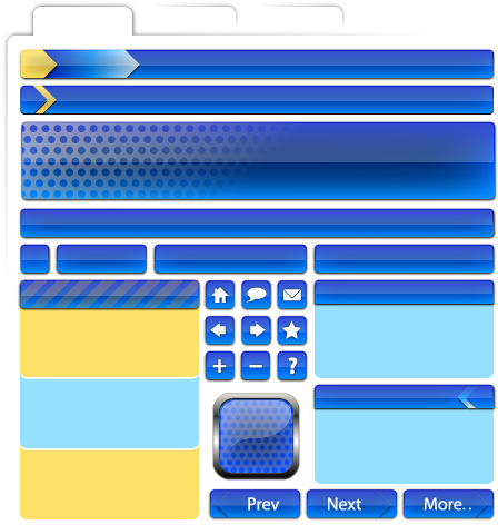 free vector Free Vector Web Page Elements ? Part 2