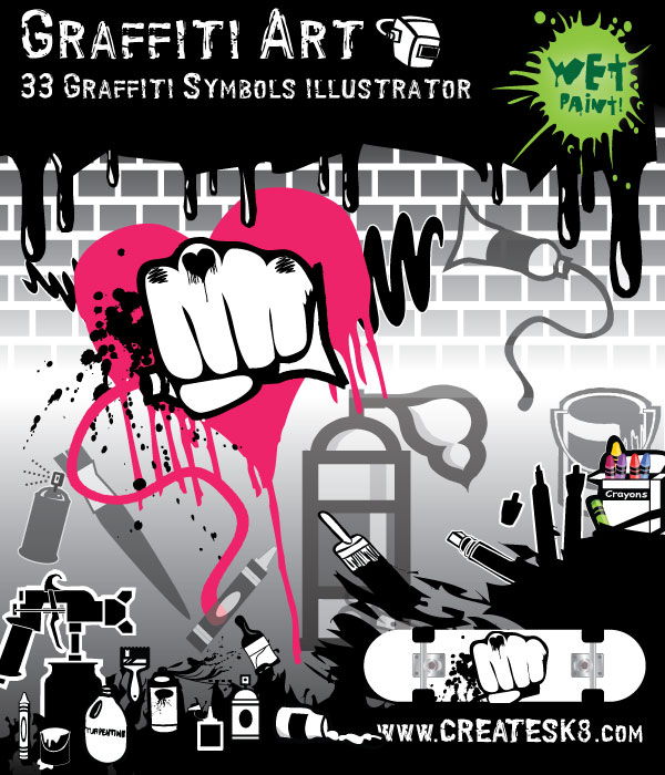 free vector Free Vectors - Graffiti and Other Art