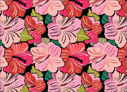 free vector Free Very flowery Pattern Vector