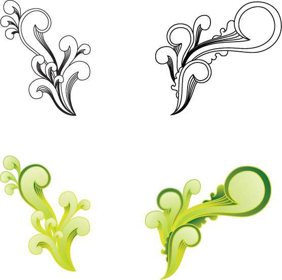 Free Witty Swirls Graphic (7743) Free EPS Download / 4 Vector