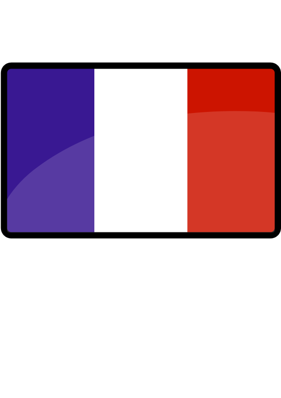free vector French flag