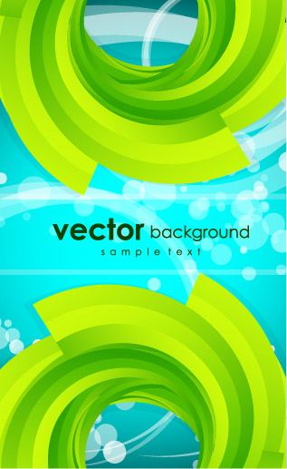 free vector Fresh and creative background vector