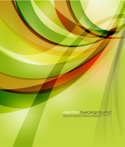 free vector Fresh and dynamic posters vector