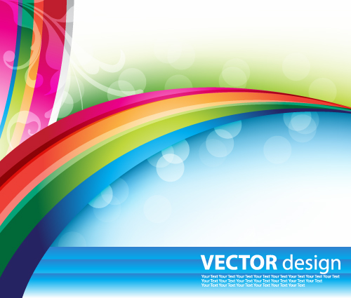 free vector Fresh background poster vector
