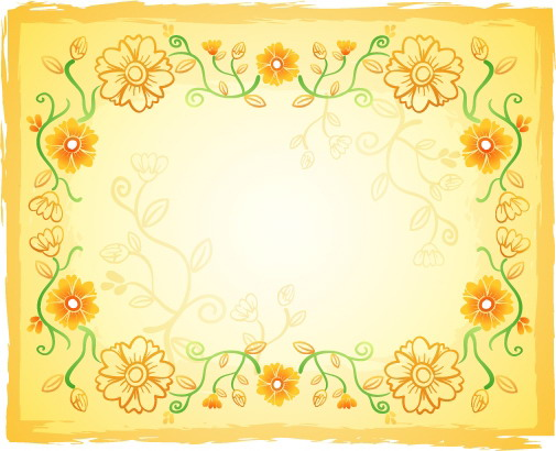 free vector Fresh flowers handpainted background vector artwork 5