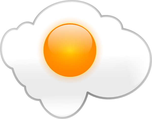 free vector Fried Egg clip art