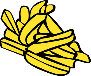 free vector Fries clip art