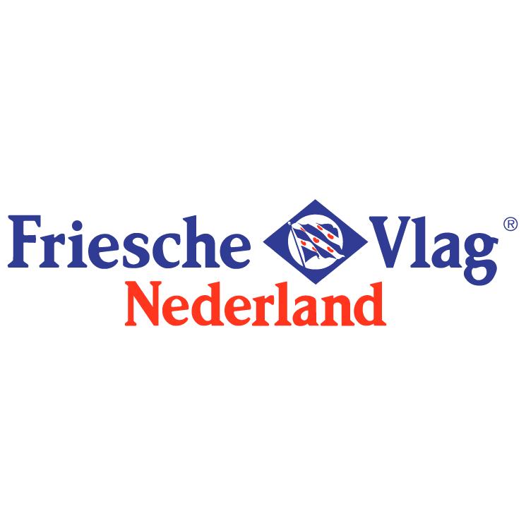 free vector Friesche vlag nederland