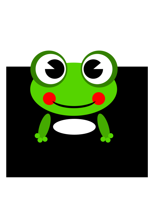 free vector Frog-by Ramy