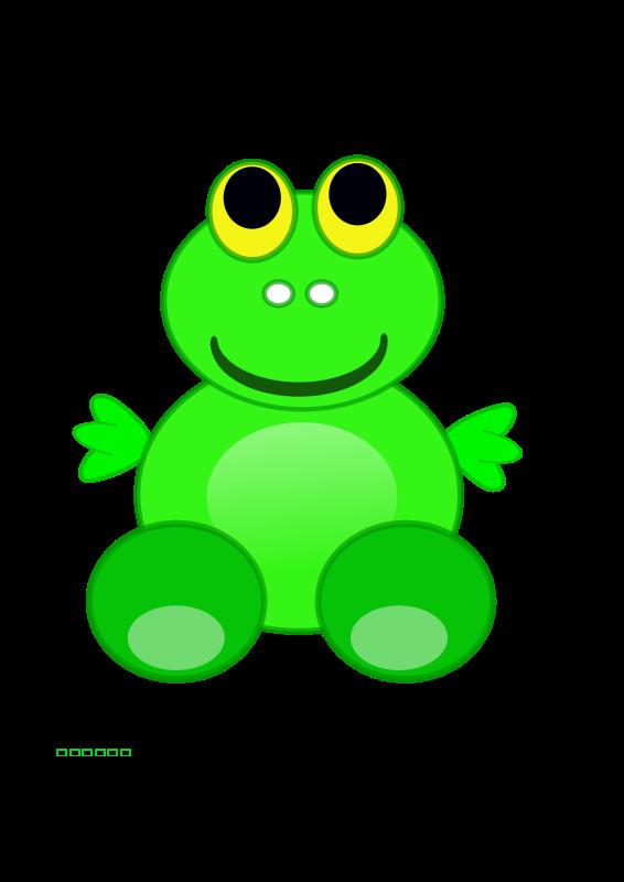 free vector Frog Froggo