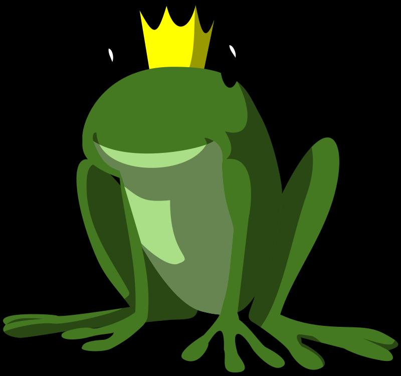 free vector Frog prince