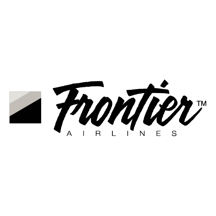 free vector Frontier airlines