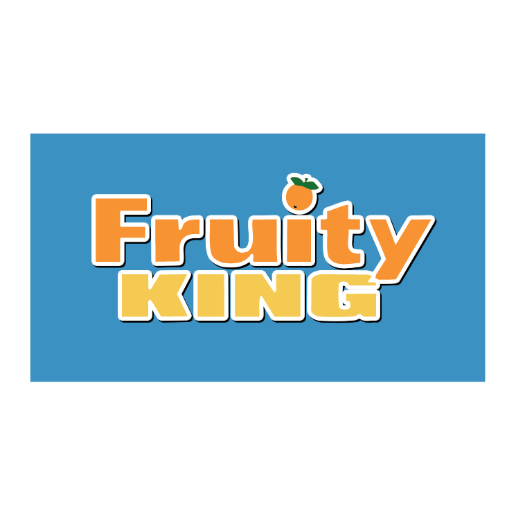 free vector Fruity king