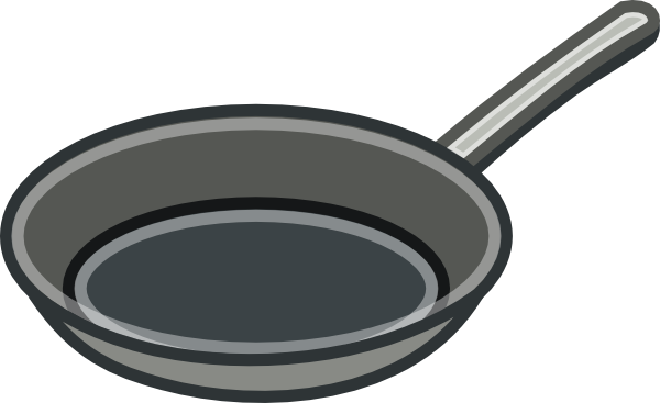 free vector Frying Pan clip art