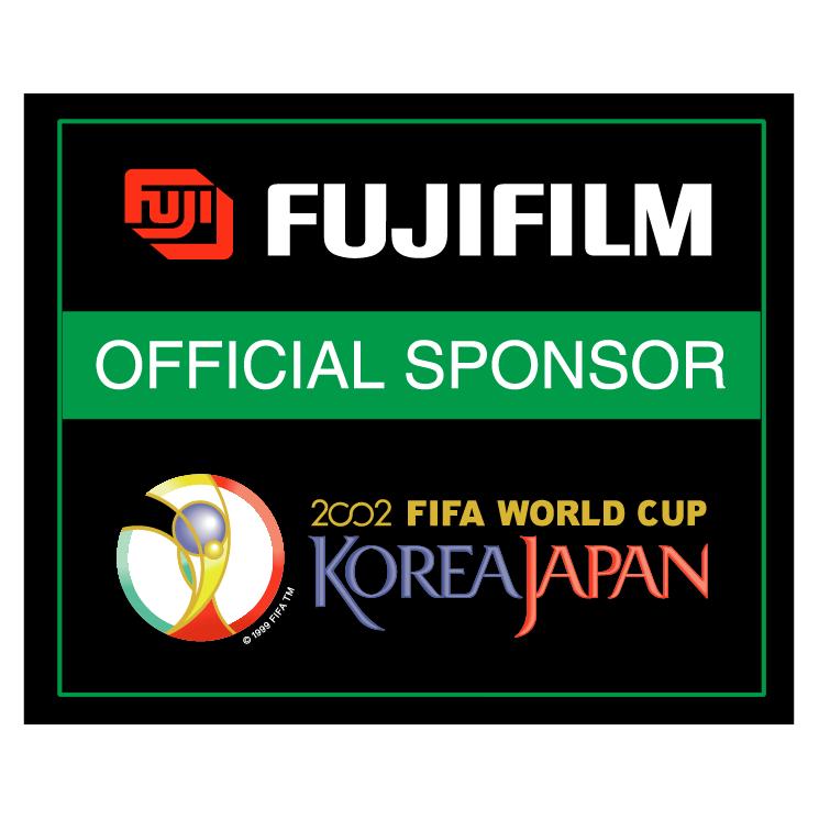free vector Fujifilm 2002 world cup sponsor