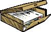 free vector Full File Box clip art