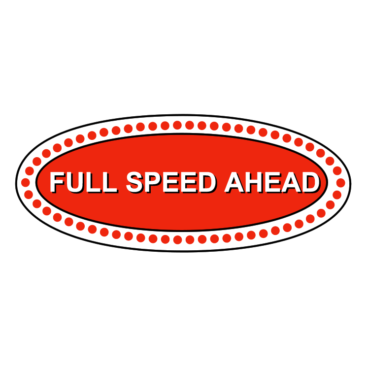 free vector Full speed ahead