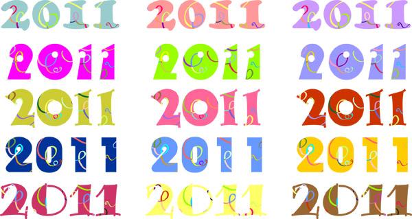 free vector Fun 2011 digital vector