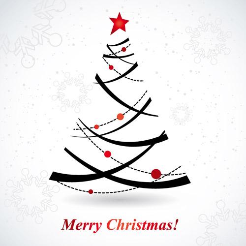 Fun Christmas Tree Vector Free Vector 4vector