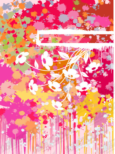 free vector Fun color pattern