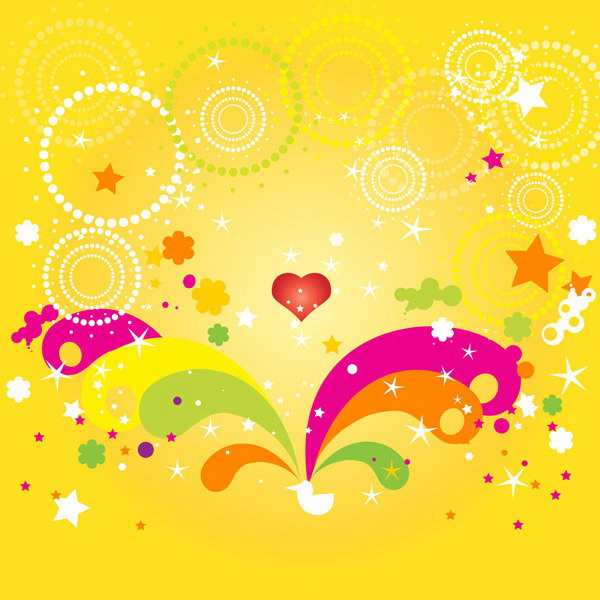 Fun fashion pattern vector background under 9 free vector for Fun pattern wallpaper