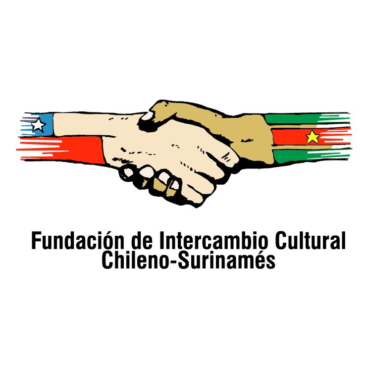 free vector Fundacion de intercambio cultural chileno surinames