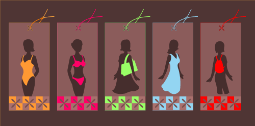free vector Funky Fashion Tags