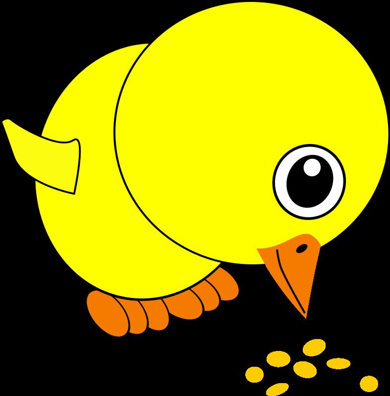 ... -bird-seed-cartoon_100708_Funny_Chick_Eating_Bird_Seed_Cartoon.png