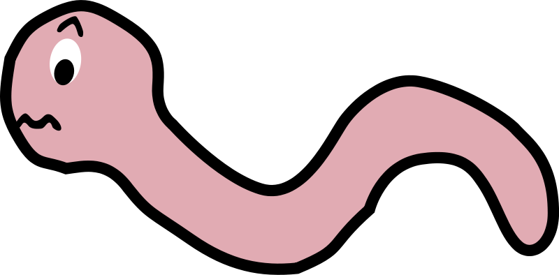clipart earthworm - photo #24