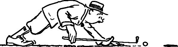 Funny Golfer clip art (108585) Free SVG Download / 4 Vector