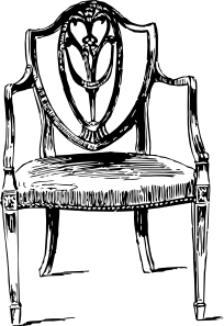 free vector Furniture Antique Chair clip art