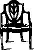 free vector Furniture Antique Chair clip art