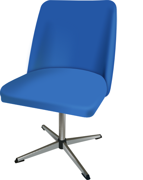 furniture desk chair clip free vector 4vector