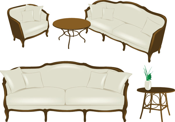 free vector Furniture vector