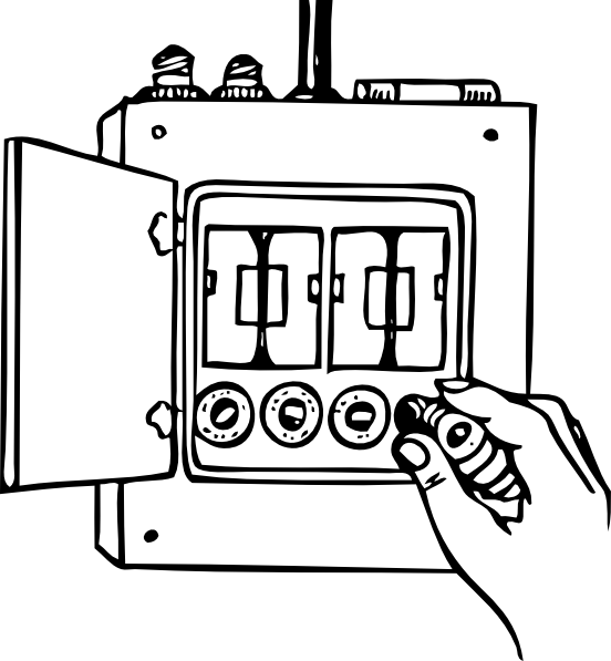 Fuse Box Clip Art Free Vector 4vectorfree: 1992 Chevy Silverado Fuse Box Diagram At Hrqsolutions.co