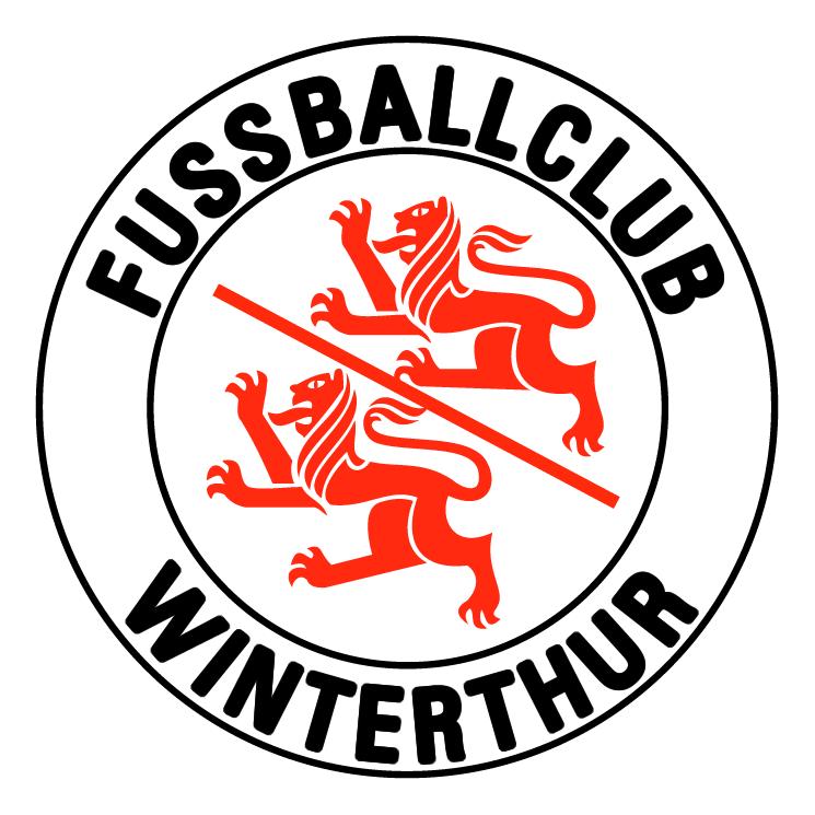 free vector Fussballclub winterthur de winterthur