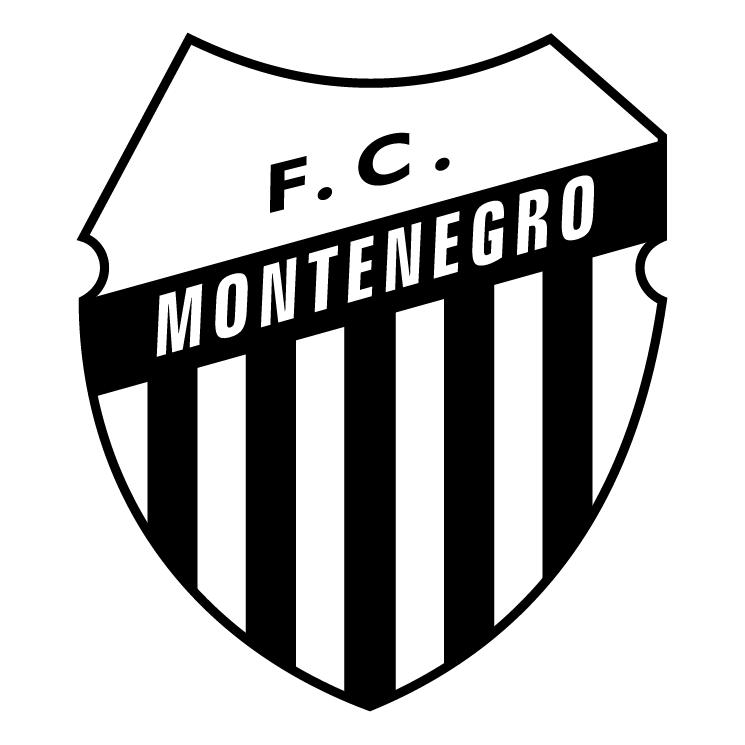 free vector Futebol clube montenegro de montenegro rs