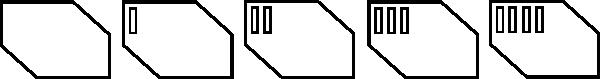 free vector Futurist Shape clip art