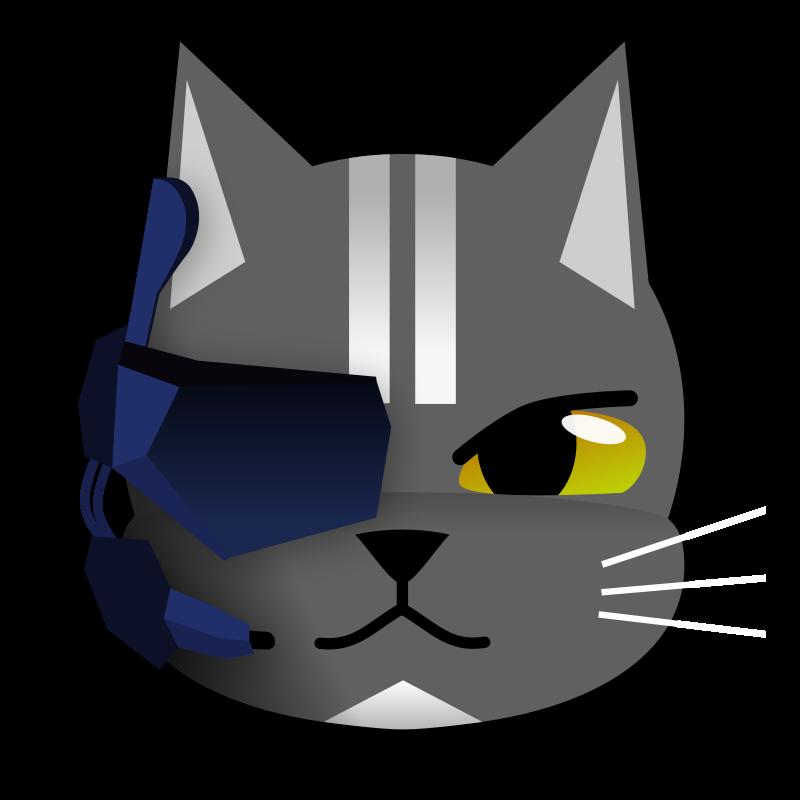 free vector Futuristic Cat
