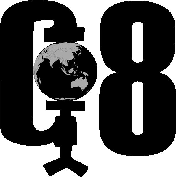 free vector G8 Ecenomic Meeting clip art