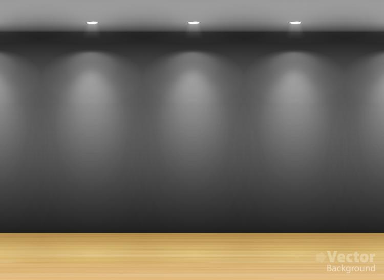 free vector Gallery display background 12 vector