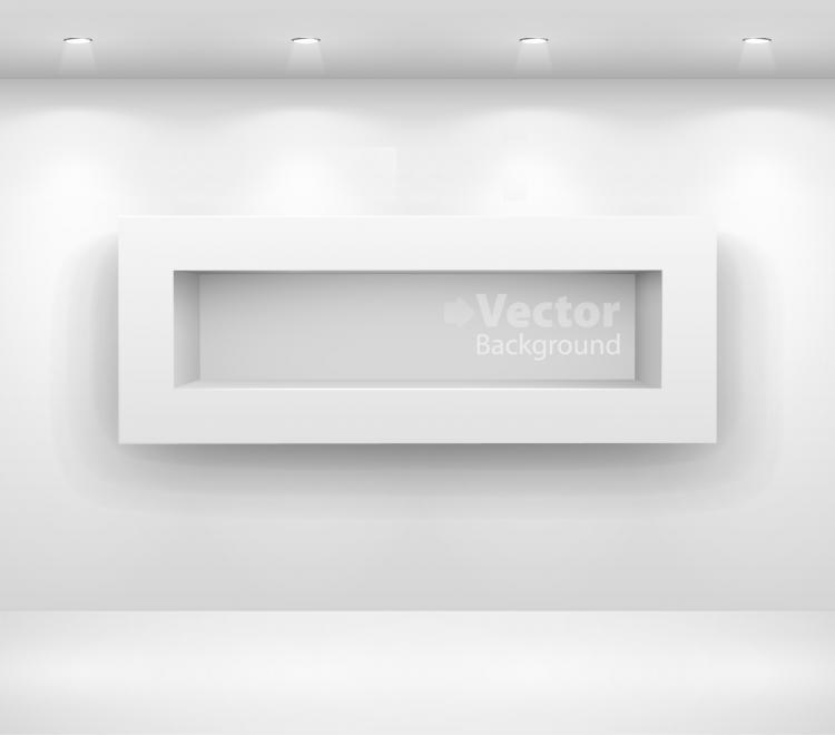 free vector Gallery display background 14 vector